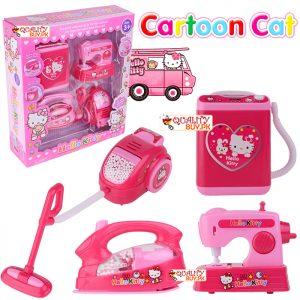 Mini Household APPLIANCES Toys Set for Kids   Set of 4 in 1 Mini Home APPLIANCES Toys Set.   Battery Operated Toys Set.