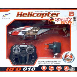 Flying Helicopter - 2 channel - rechargeable - RFD018 original - infrared remote control helicopter