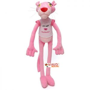 Pink Panther stuff toy - 65cm height - imported Fabric - medium size